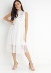 Biała Sukienka Ortiz