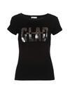Czarny T-shirt Blanka