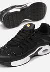 Czarno-Białe Buty Sportowe Sizable