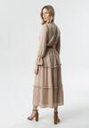 Beżowa Sukienka Consideration