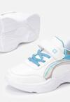 Biało-Niebieske Buty Sportowe How To Love