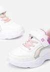 Biało-Różowe Buty Sportowe How To Love