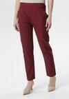 Bordowe Spodnie Girls Go Wild