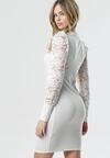 Biała Sukienka Wells
