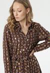 Granatowo-Bordowa Sukienka Sannah