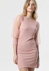 Jasnoróżowa Sukienka Whiteley