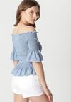 Niebieska Bluzka Maxima