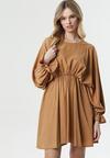 Camelowa Sukienka Sistine