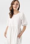 Biała Sukienka Sonali