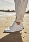 Białe Buty Sportowe Thurdian