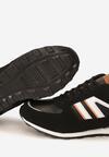 Czarno-Pomarańczowe Buty Sportowe Consum