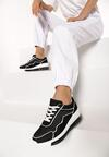Czarne Sneakersy Asitrise