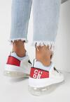 Biało-Niebieskie Sneakersy Chariclo
