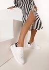 Biało-Czarne Sneakersy Neda