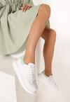 Biało-Miętowe Sneakersy Neda