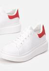 Biało-Czerwone Sneakersy Neda