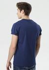 Ciemnoniebieska Koszulka Harimoni