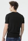 Czarna Koszulka Savarinea