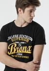 Czarna Koszulka Anthrecea