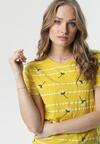 Żółty T-shirt Aora