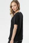 Czarny T-shirt Mystise