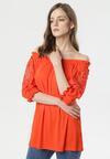 Pomarańczowa Bluzka Caigenia