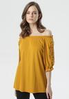 Żółta Bluzka Caigenia