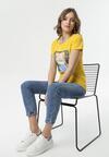 Żółty T-shirt Lysiniassi