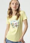 Żółty T-shirt Caliroesis