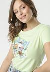 Jasnozielony T-shirt Caliroesis