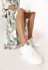 Biało-Zielone Sneakersy Xanthe