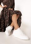 Biało-Różowe Sneakersy Xanthe