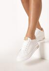 Biało-Beżowe Sneakersy Xanthe