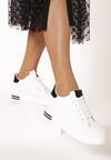 Biało-Czarne Sneakersy Xanthe