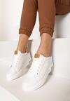 Biało-Camelowe Sneakersy Xanthe