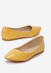 Żółte Balerinki Wirenth