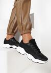 Czarne Sneakersy Menodiace