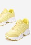 Żółte Sneakersy Menodiace
