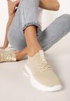 Beżowe Sneakersy Neomeris