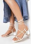 Białe Sandały Pholora