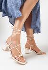 Beżowe Sandały Pholora