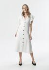 Biała Sukienka Menippe