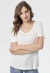 Biały T-shirt Kleia