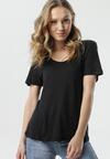 Czarny T-shirt Kleia
