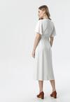 Biała Sukienka Eludora