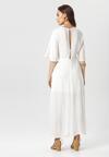 Biała Sukienka Amatheia
