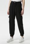 Czarne Spodnie Pontoreisa