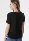 Czarny T-shirt Rhene