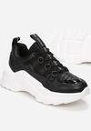 Czarne Sneakersy Eluno