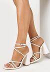 Białe Sandały Geniviane